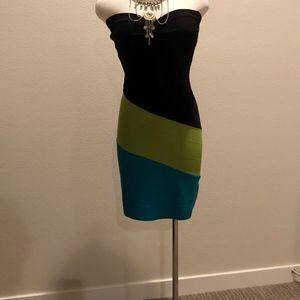 fb8af3884838b Gianni Bini XS Strapless Dress Cruise Wear